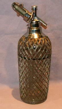 OLD FAITHFUL Seltzer Bottle - Glass