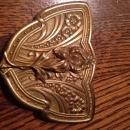 Brass Belt Victorian Buckle -  Jewelry