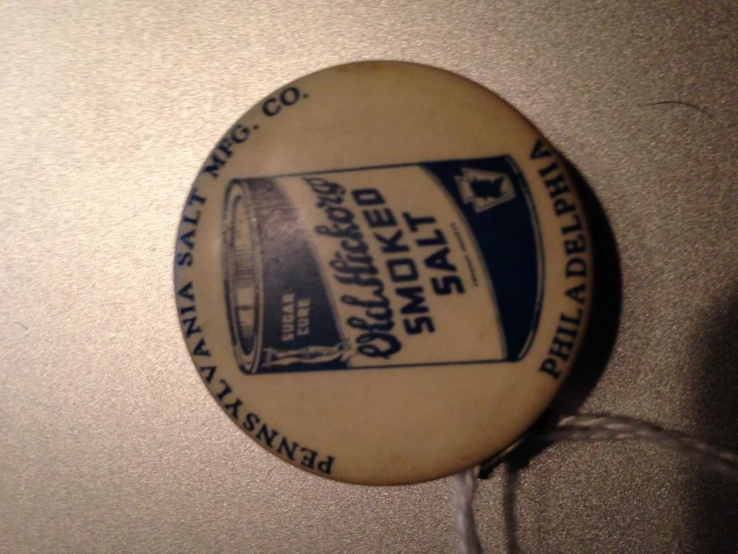 OLD HICKORY SMOKED SALT - Tape Measure - Advertising