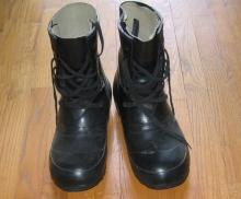 Korea type MICKEY MOUSE Military Boots - Vintage Apparell