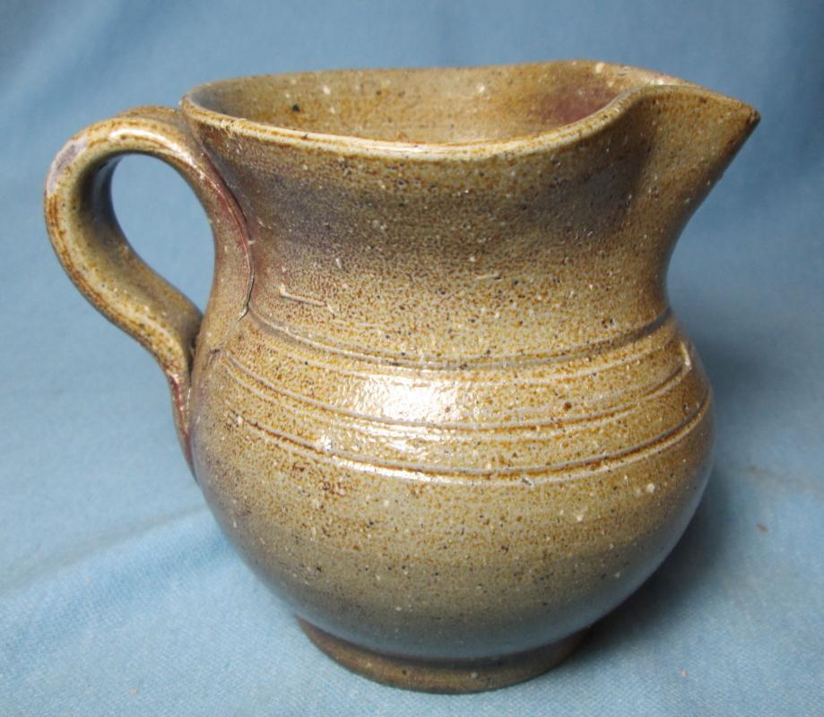 Jugtown Art Pottery TOBACCO SPIT Pitcher - Older Mark Pottery