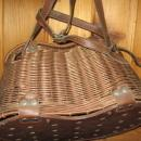 UNUSUAL Antique Wicker FISH CREEL - Sporting Fishing