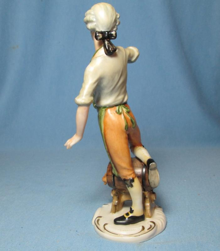 Goebel Brewmeister  Figurine #FR29 - Vintage Bochmann Porcelain Figure
