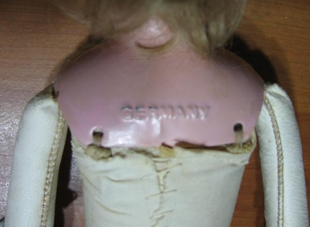 Antique German MINERVA Doll - Antique Kid Body Toy