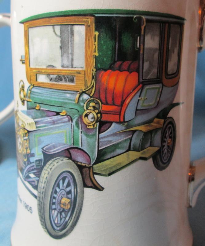 1905 DAIMLER  Automobile Mug  - Sadler Pottery Mug