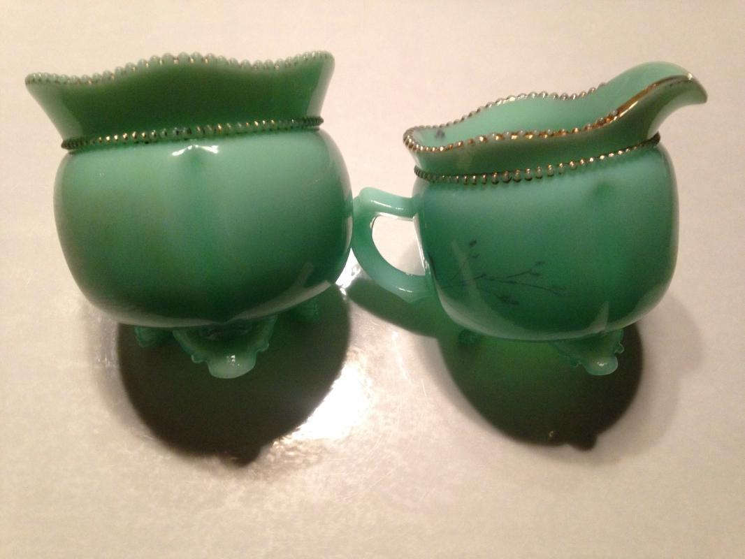 Northwood Creamer Sugar Set  - Glass