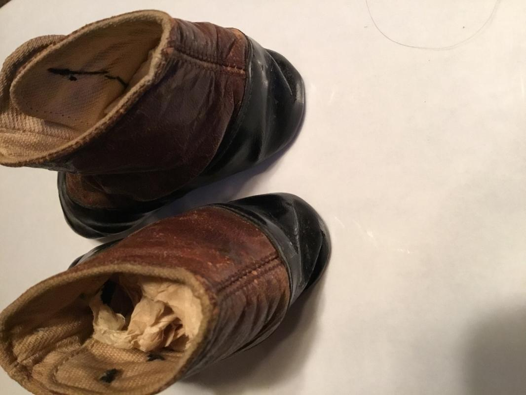 Black + Brown Baby Shoes - Child's Clothing