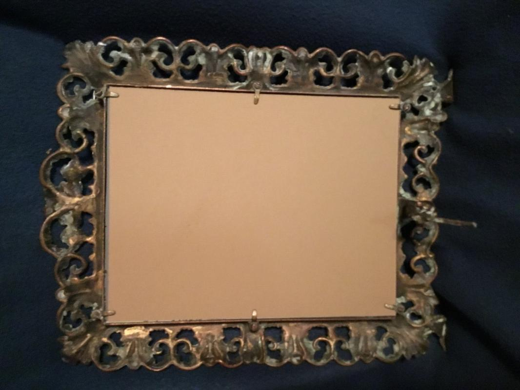 Brass Table Top Frame