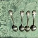 4 Sterling SilverTOWLE COLONIAL Teaspoons 1895
