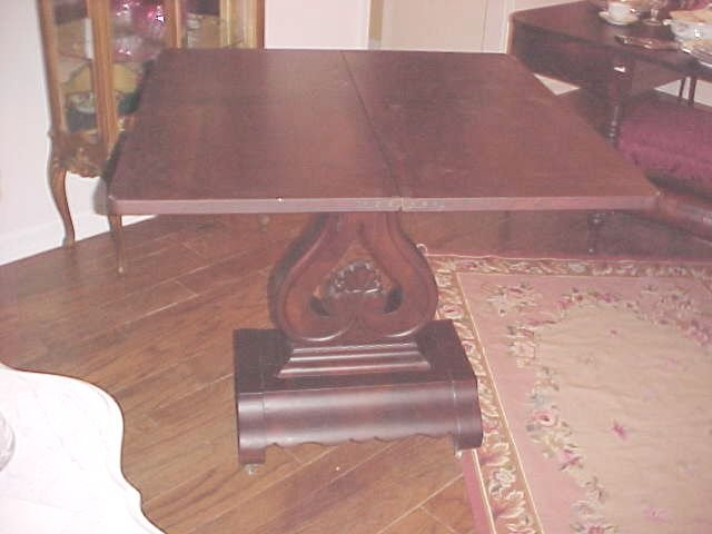 Period Empire Game Table