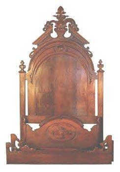 Renaissance Walnut Bedroom Suite
