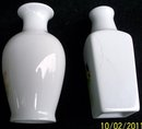 PAIR OF SCENIC CHINESE MINI VASES