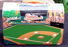 JUNIOR ORIOLES DUGOUT CLUB LUNCH BOX