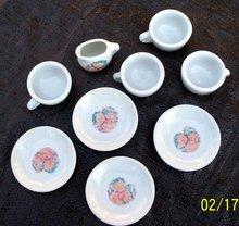 9 PIECE MINIATURE TEA SET - BEARS