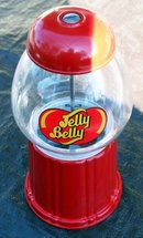 JELLY BELLY DISPENSER AND COIN STORAGE