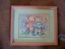 FRAMED BARBARA MOCK KITTENS PICTURE/PRINT