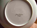 SET OF SIX SHAFFORD GOLDEN HEIRLOOM SALAD PLATES - PRICE REDUCED -