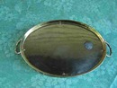 SOLID BRASS JEWELRY  OR DRESSER TRAY