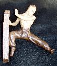 MARTIAL ARTS FIGURINE POSSIBLE TAEKWONDO OR KARATE