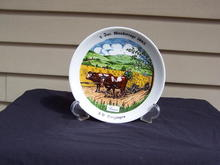 FARM SCENE PLATE FROM BAVARIA