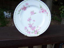 LIMOGES DISH WITH DOGWOOD FLOWERS * PRICE REDUCED *