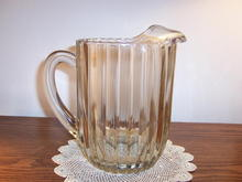 HEAVY 64 OUNCE GLASS PITCHER -PRICE REDUCED
