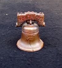 METAL REPRODUCTION OF THE ORIGINAL LIBERTY BELL