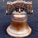 METAL REPRODUCTION OF THE ORIGINAL LIBERTY BELL