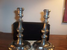PAIR OF CANDLE HOLDERS