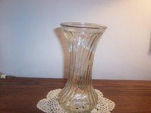 HOOVER GLASS VASE #4083 OR 4085