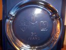 ANCHOR HOCKING 75TH ANNIVERSARY ASHTRAY/GIFT BOX