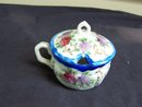 SMALL FLORAL TEA CUP WITH MATCHING LID