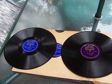 SIR HARRY LAUDER /HARRY LAUDER RECORD SET  W ITH OLD ALB UM HOLDER - REDUCE PRICE