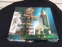 HAIL COLUMBIA SPACE SHIP JIGSAW PUZZLE