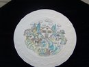 GIEN FRANCE PLATE - MARIE PIERRE BORTARD - PRICE REDUCED -