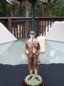 OLD TIME GOLFER FIGURINE WITH REDUCED PRICE