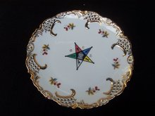 EASTERN STAR FANCY HANGING PLATE - PRICE REDUCED -