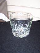ETCHED CRYSTAL GLASS ICE BUCKET - PRICE REDUCED -