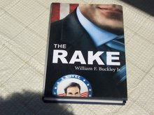 THE RAKE BY WILLIAM F. BUCKLEY JR. 1ST EDITION  --NEW LOWER PRICE --