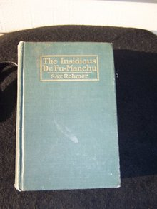 THE INSIDIOUS DR. FU-MANCHU BY SAX ROHMER