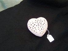 PINK HEART SHAPED DRESSER BOX LATTICE DESIGN