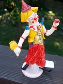 CLOWN FIGURINE FROM ITALY