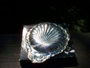 SILVER PLATED SCALLOPED TRAY