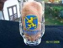 LOWENBRAU MUNCHEN GLASS MUG  .4L