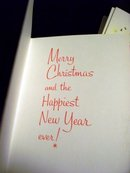 CHRISTMAS  & NEW YEARS GREETING CARDS