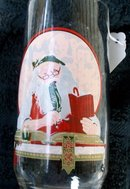 COCA-COLA CO. NORMAN ROCKWELL CHRISTMAS GLASS