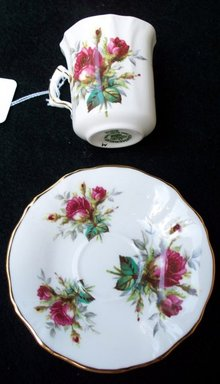 HAMMERSLEY DEMI TASSE CUP AND SAUCER