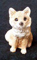 BROWN FOX FIGURINE
