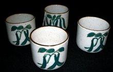 ASAHI TEA CUPS (4)