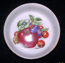SMALL FRUIT DESIGNED BOWL FROM JOHN WAGNER & SONS